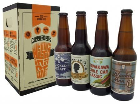 Clemenger's 'Welllington in a Pint' range of craft beers made by local brewers